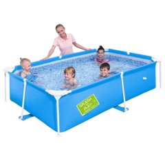 Бассейн каркасный Bestway 56220. Детский Splash and Play Frame 239 х 150 х 58 см, голубой