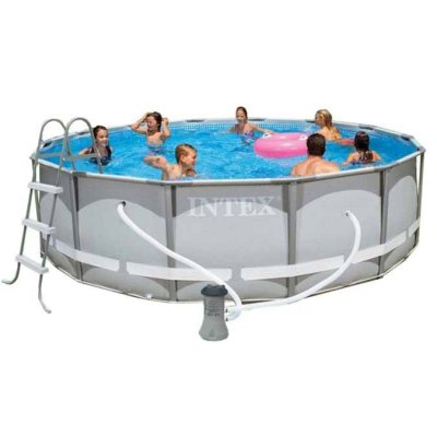 Каркасный бассейн Intex 28310. Ultra Frame Pool - 427 х 107 см