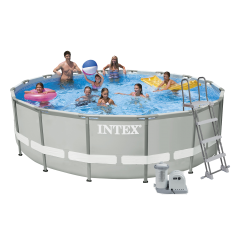 Каркасный бассейн Intex 28322 (26322). Ultra Frame Pool - 488 x 122 см