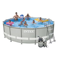 Каркасный бассейн Intex 28324-11. Ultra Frame Pool - 488 x 122 см