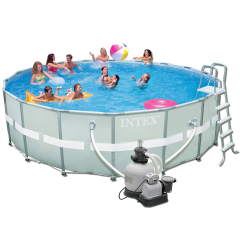 Каркасный бассейн Intex 28332 (54926). Ultra Frame Pool - 549 x 132 см