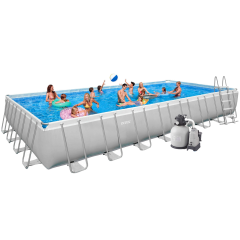 Каркасный бассейн Intex  28376 (26376). Ultra Frame Rectangular Pool 975 х 488 х 132 cм