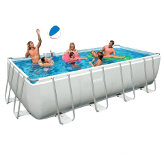Каркасный бассейн Intex 28352-1 (54982). Ultra Frame Rectangular Pool 549 х 274 х 132 см