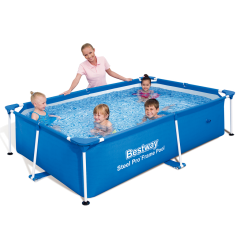 Каркасный бассейн Bestway 56402. Детский Splash and Play Frame 239 х 150 х 58 см