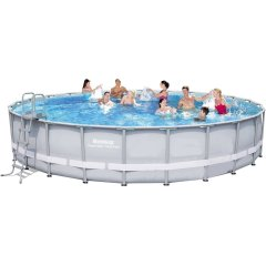 Каркасный бассейн Bestway 56634-1. Power Steel Frame Pools - 671 x 132 cм