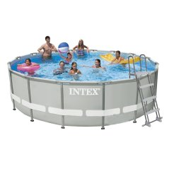 Каркасный бассейн Intex 28322-1. Ultra Frame Pool - 488 x 122 см