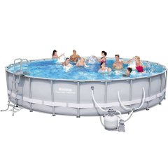 Каркасный бассейн Bestway 56636. Power Steel Frame Pools - 671 x 132 cм