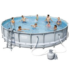 Каркасный бассейн Bestway 56634. Power Steel Frame Pools - 671 x 132 cм