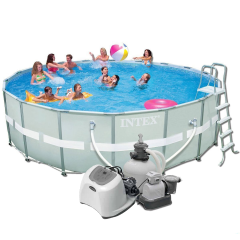 Каркасный бассейн Intex 28332-13. Ultra Frame Pool - 549 х 132 см