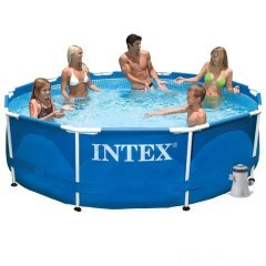 Каркасный бассейн Intex 28202 New, 305 x 76 см (1 250 л/ч)