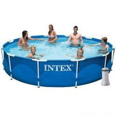 Каркасный бассейн Intex 28212 New, 366 x 76 см (2 006 л/ч)