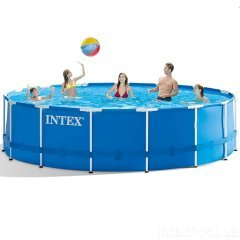 Каркасный бассейн Intex 28242 - 0 New (чаша, каркас), 457 х 122 см