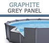 Intex Graphite Grey Panel
