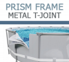 Intex Prism Frame Metal T-Joints