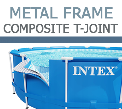 Intex Metal Frame Composite T-Joints